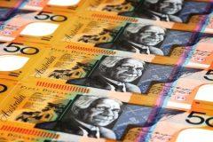 Many Australian 50 dollar notes