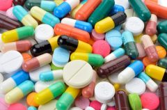 Lots of colourful pills