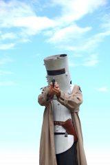 Bushranger in Ned Kelly outfit